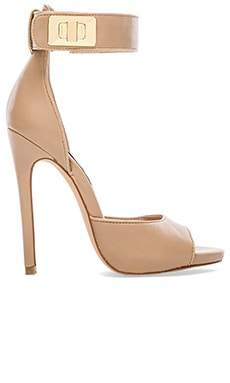 Mayven Heel in Blush Leather