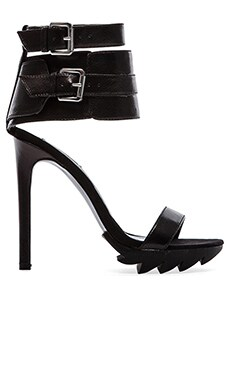 Peace Love Shea x Steve Madden Tarzana Heel in Black