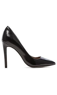 Steve Madden Proto Heel in Black Leather