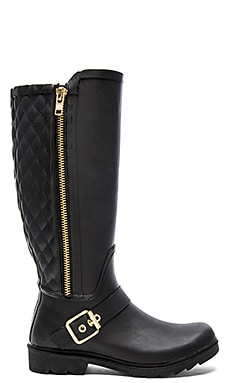 Steve Madden Northpole Rainboot in Black