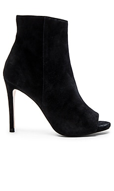 Ladee Bootie in Black Suede