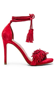 Steve Madden Sassey Heel in Red