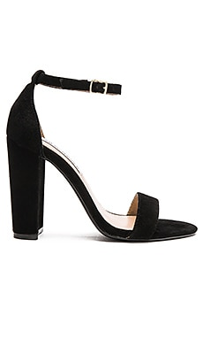Steve Madden Carrson in Black Suede