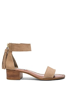Darcie Sandal in Taupe Suede
