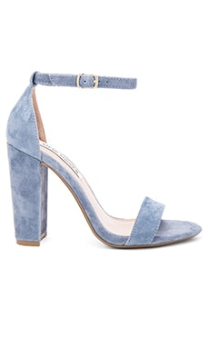Carrson Sandal in Blue Suede