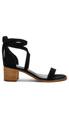 Rizzaa Sandal in Black Suede