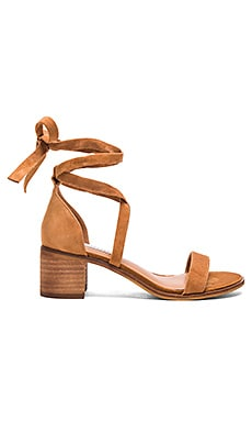 Rizzaa Sandal in Cognac Suede