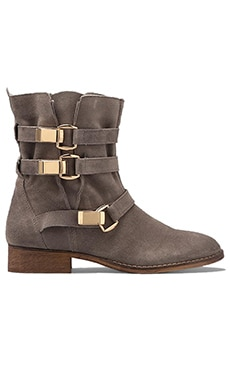 Steve Madden Haggle Boot in Grey Suede