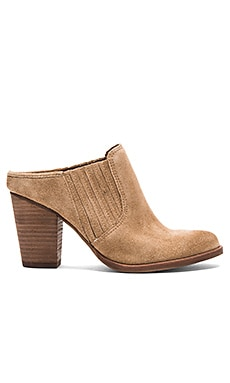 Mertta Mule in Tan Suede