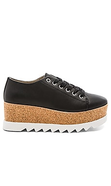 Korrie Sneaker in Black Leather