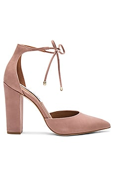 Pampered Heel in Blush Nubuck