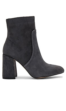 Jacque Bootie in Grey Suede