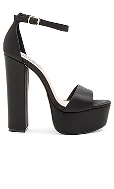 Gonzo Heel in Black Satin