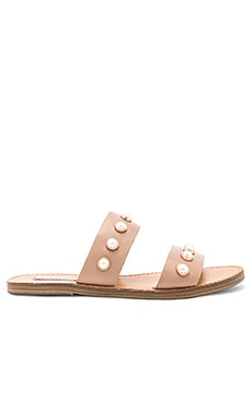 Jole Sandal in Nude Leather