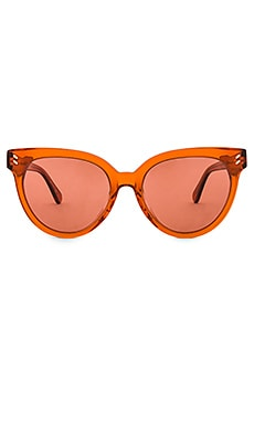СОЛНЦЕЗАЩИТНЫЕ ОЧКИ ROUND CAT EYE ACETATE Stella McCartney $260