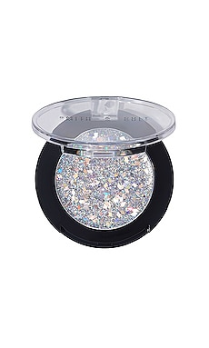 Glitter Shot All-Over Glitter Crush in Silver