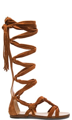 Boni Sandal in Dark Tan