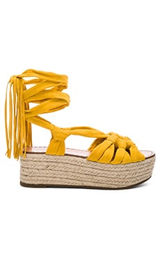 Cosie Sandal in Yellow