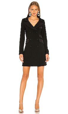 Tuxedo Coat Dress Smythe $233