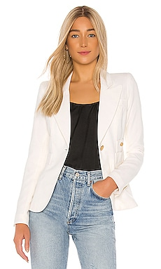 Smythe Duchess Blazer in White