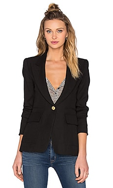 Smythe Patch Pocket Blazer in Black