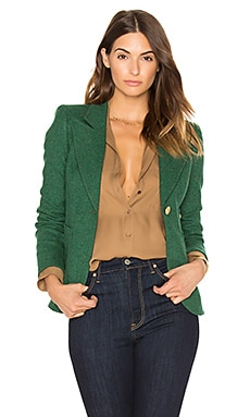 Patch Pocket Duchess Blazer in Kelly Green