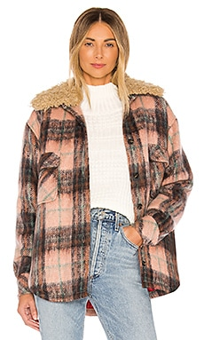 Faux Fur Collar Workwear Jacket Smythe $332