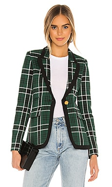 Taped Peaked Lapel Blazer Smythe $795