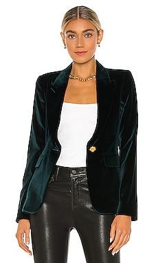 Velvet Peaked Lapel Blazer Smythe $795 NEW