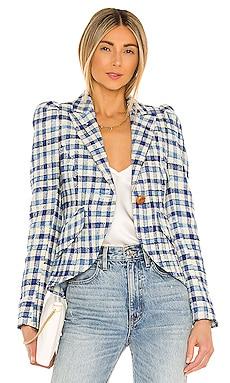 Pouf Sleeve One Button Blazer Smythe $795