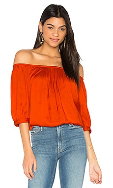 Gypset Top in Poppy