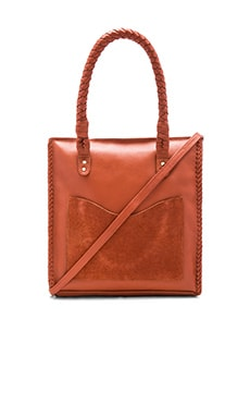 Sancia Tuscany Backpack Tote Bag in Terracotta