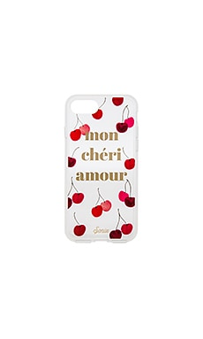Mon Cheri iPhone 7 Case in Clear
