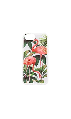 FLAMINGO GARDEN IPHONE 7 케이스
