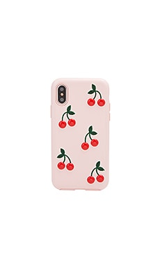 Patent Cherry iPhone X Case Sonix $55