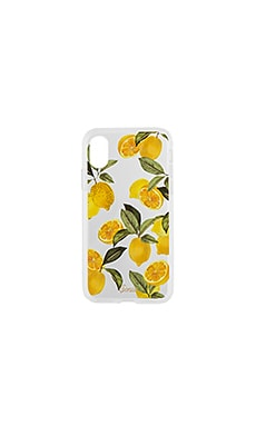 Lemon Zest iPhone X Case Sonix $45