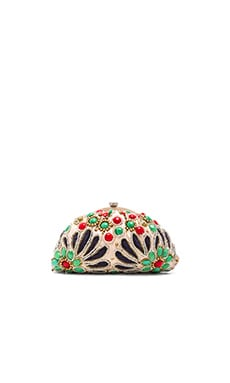 Santi Beaded Clutch in Multi