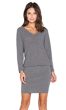 Soft Joie Delsie Dress in Dark Heather Grey