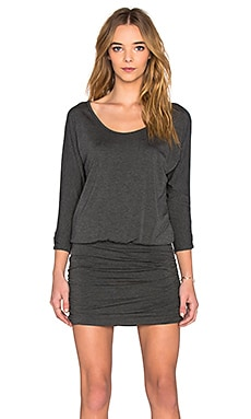 Soft Joie Arusha Mini Dress in Heather Charcoal