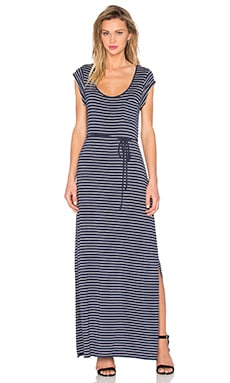 Karlie Striped Maxi Dress