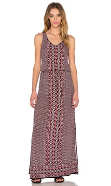 Ewan Maxi Dress en Fired Brick