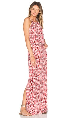 Nirveli Maxi Dress in Fired Brick