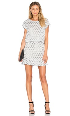 Soft Joie Quora Dress in Porcelain & Soft Grey