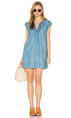 Blayne Dress in Indigo