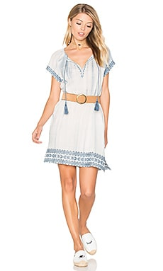 Megdalyn Dress in Washed Denim