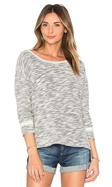 Katelin B Sweater in Caviar