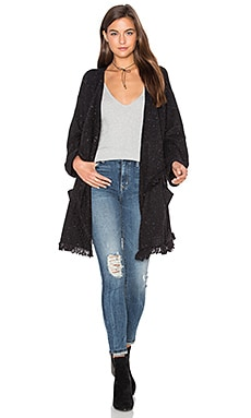 Soft Joie Farid Cardigan in Caviar