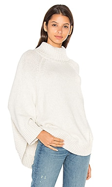 Nesiah Sweater in Heather White