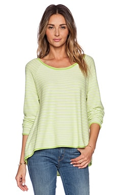 Soft Joie Hidalgo Sweater in Acid Lemon