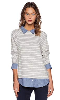 Soft Joie Diadem Sweater in Heather Grey